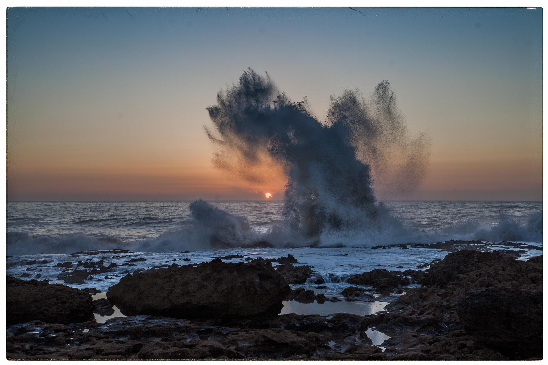 Wellen vs. Sonne